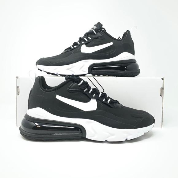 Nike Shoes Air Max 270 React Black White Poshmark